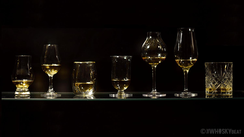 Ανάλυση και σύγκριση 7 διαφορετικών ποτηριών για ουίσκι